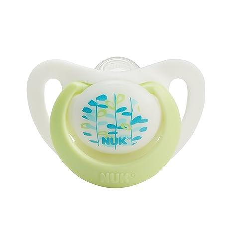 Amazon.com: NUK Advanced ortodoncia Chupetes de silicona ...