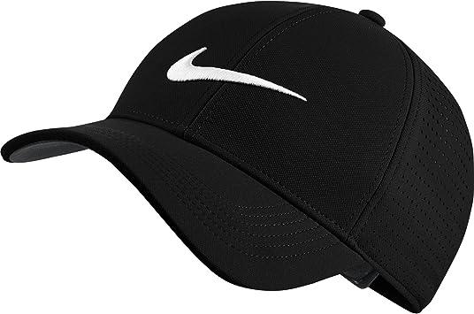 Nike Legacy91 Perf Gorra de Golf, Hombre, Negro (Black 010), Talla ...