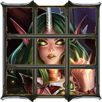 Amazon.com: Suppport Puzzle-6 for League of Legends ...