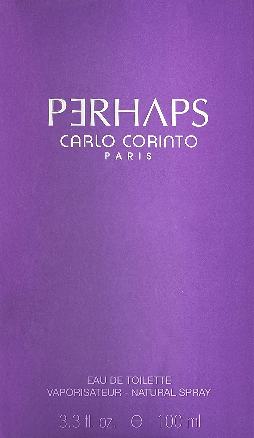 Carlo Corinto Perhaps Eau de Toilette Spray for Women, 3.4 Ounce by Carlo Corinto: Amazon.es: Belleza