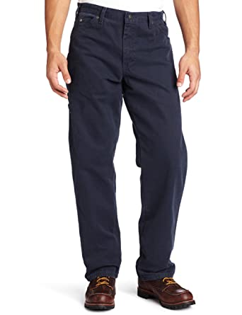 aeec89b62323a Dickies Men's Relaxed Fit Sanded Duck Carpenter Jean at Amazon Men's  Clothing store: Work Utility Pants