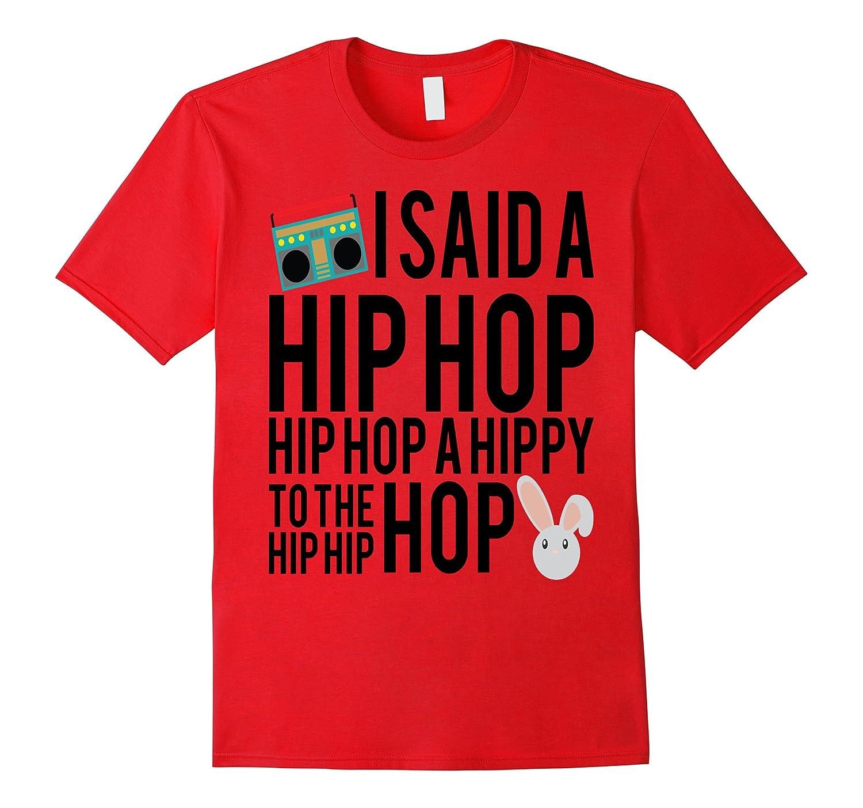 Funny Easter Shirt Hip Hop Rap Music Bunny Kids School-TD