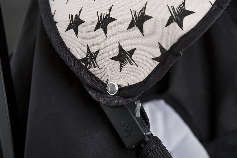 White Star Janabeb/é Hood Canopy for Maclaren Quest