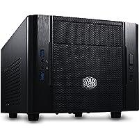 Cooler Master Elite 130 - Gabinete para PC, Mini-ITX Torre Panel Frontal de Malla y Soporte de Enfriador Líquido