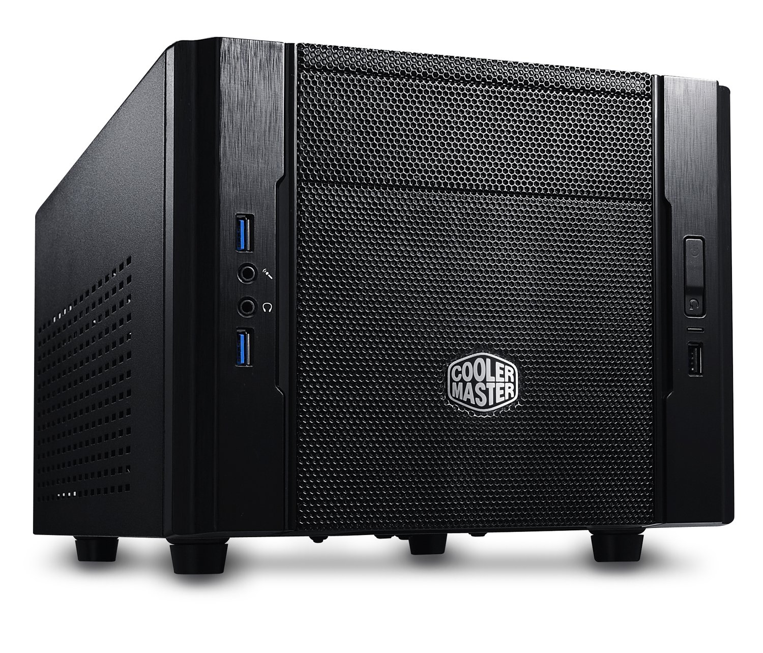 Cooler Master Elite 130 - Mini-ITX Computer Case with Mesh Front Panel and Water Cooling Support