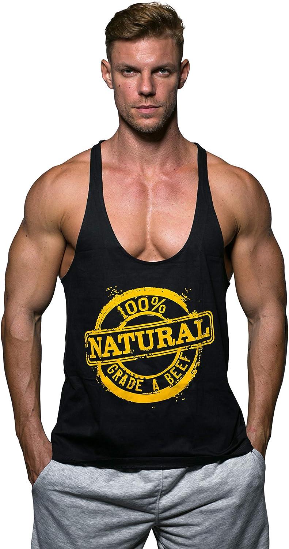 Alpha Brothers Gym Stringer 100/% Natural Bodybuilding Tank Top Muscle Racerback