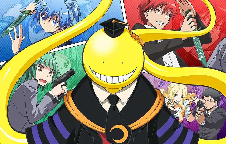 Athah designs anime assassination classroom irina jelavi tadaomi karasuma kaede kayano karma akabane nagisa shiota koro sensei 1319 inches wall poster