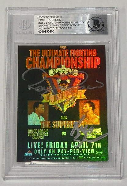Ken Shamrock Signed UFC 7 Poster 8x10 Photo PSA//DNA COA Picture Autograph 1 3 5