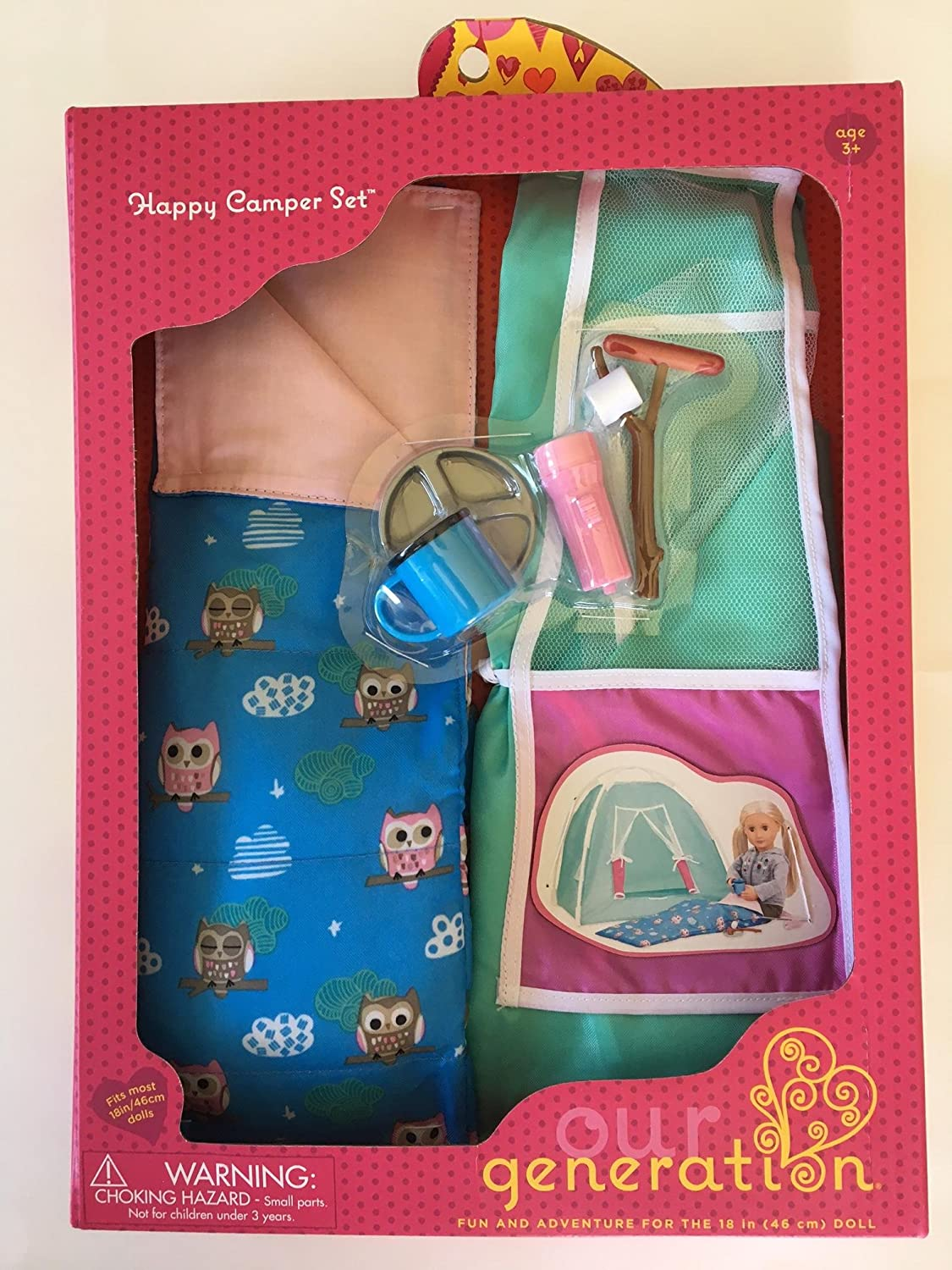 Our Generation Happy Camper Set for most 18 Dolls