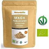 Maca Peruviana Biologica in Polvere [ Gelatinizzata ] 1 kg | 100% Naturale e Pura, Prodotto in Perù, Estratto dalla Radice di Maca Bio | NATURALEBIO
