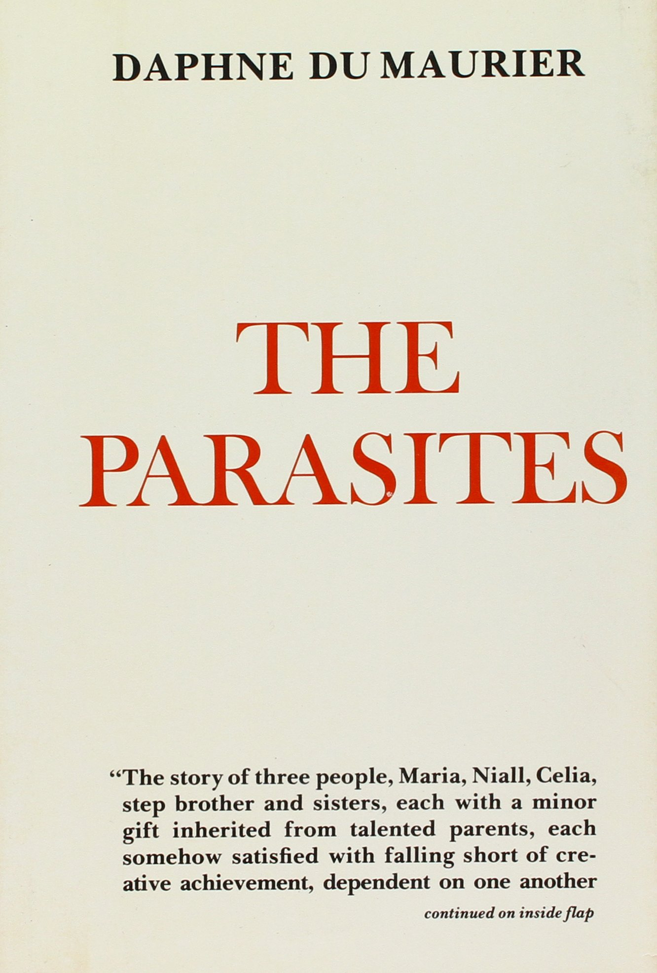 daphne du maurier paraziták áttekintése