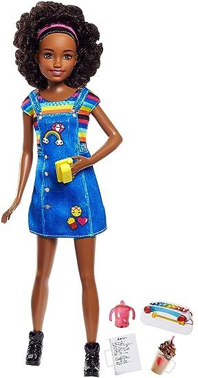 Amazon.es  Barbie-FHY91 Muñeca Afroamericana Quiero Ser Niñera ... 8863d1e2a7535