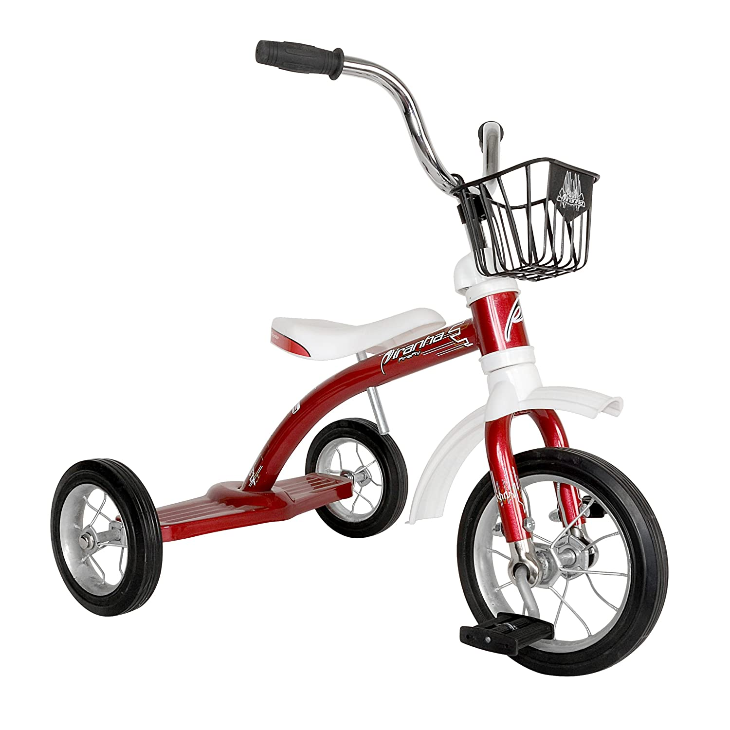 Piranha front Firefly Classic Tricycle, for for Boys and Girls, Red, inch 10 inch front wheel 141[並行輸入] B00DM1MS9A, シューズショップ KONI KONI:34c10a28 --- number-directory.top