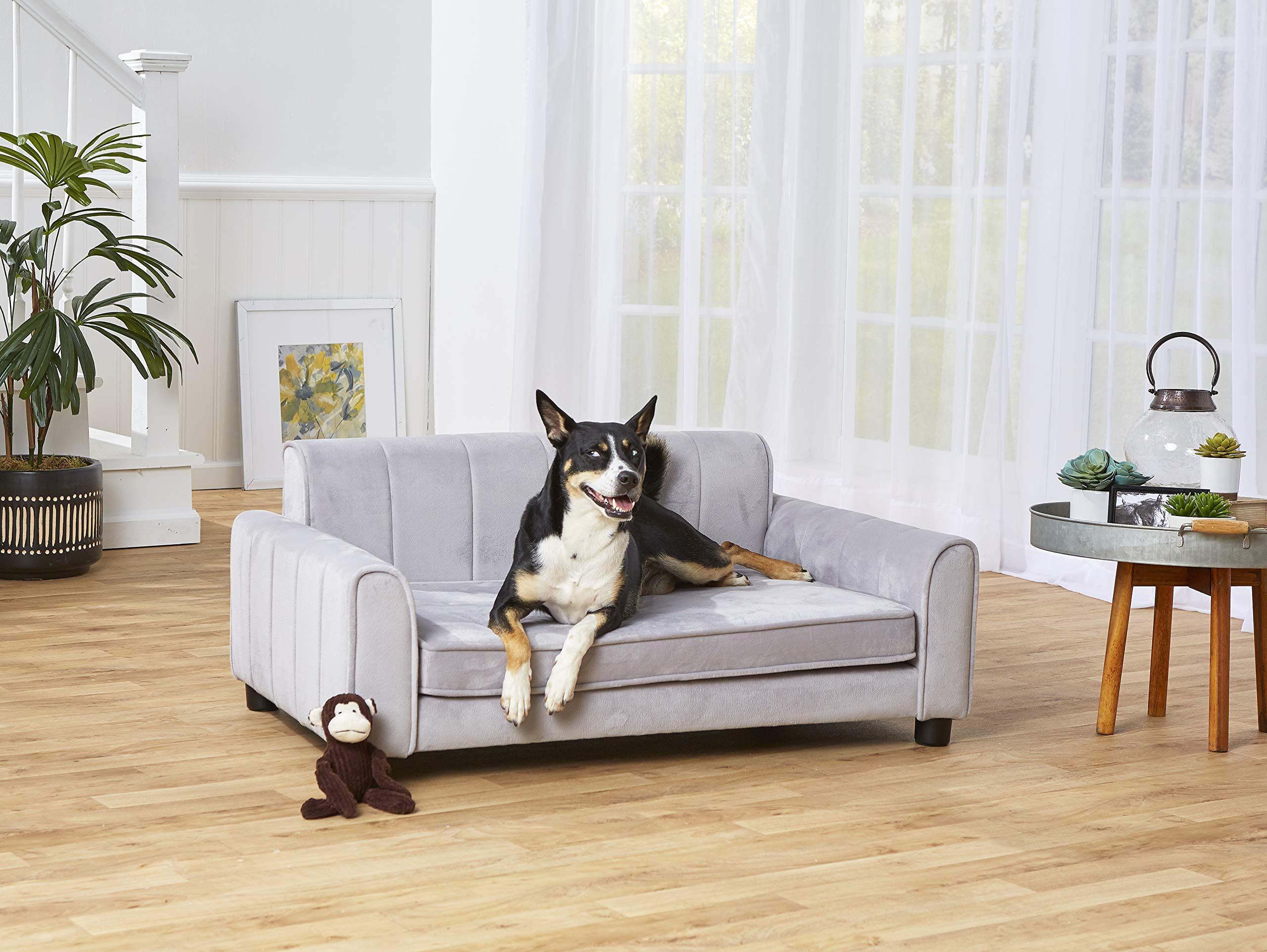 Enchanted Home Pet Ludlow Pet Sofa - Grey by Enchanted Home Pet