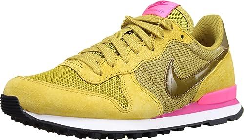 Fuerza motriz patrón guardarropa  Nike Wmns Internationalist Schuhe Damen Sneaker Turnschuhe Gelb 828407 302,  Größenauswahl:38: Amazon.de: Schuhe & Handtaschen