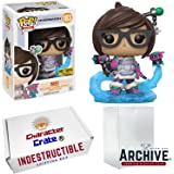 Funko Pop! Overwatch Mei With Endothermic Blaster & Mid-Blizzard, Hot Topic Exclusive, Concierge Collectors Bundle Vinyl Figure
