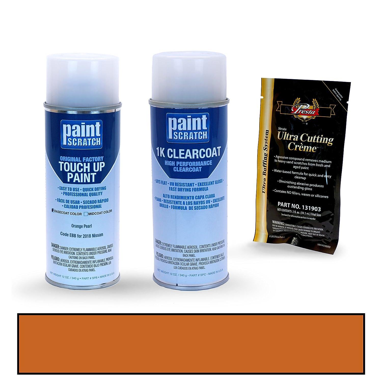 Amazon.com: PAINTSCRATCH Orange Pearl EBB for 2018 Nissan Rogue - Touch Up Paint Spray Can Kit - Original Factory OEM Automotive Paint - Color Match ...
