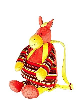 Bolsos y mochilas de peluche mochila suave y blandita en forma de burro para niños y niñas: Amazon.es: Juguetes y juegos