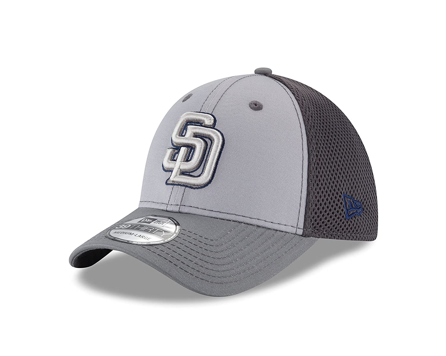 New Era MLB San Diego Padres Grayed Out NEO 39Thirty Stretch Fit Cap