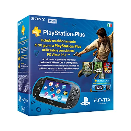 37 opinioni per PlayStation Vita (PS Vita)- Console [Wi-Fi] con Memory Card 8 GB e PlayStation