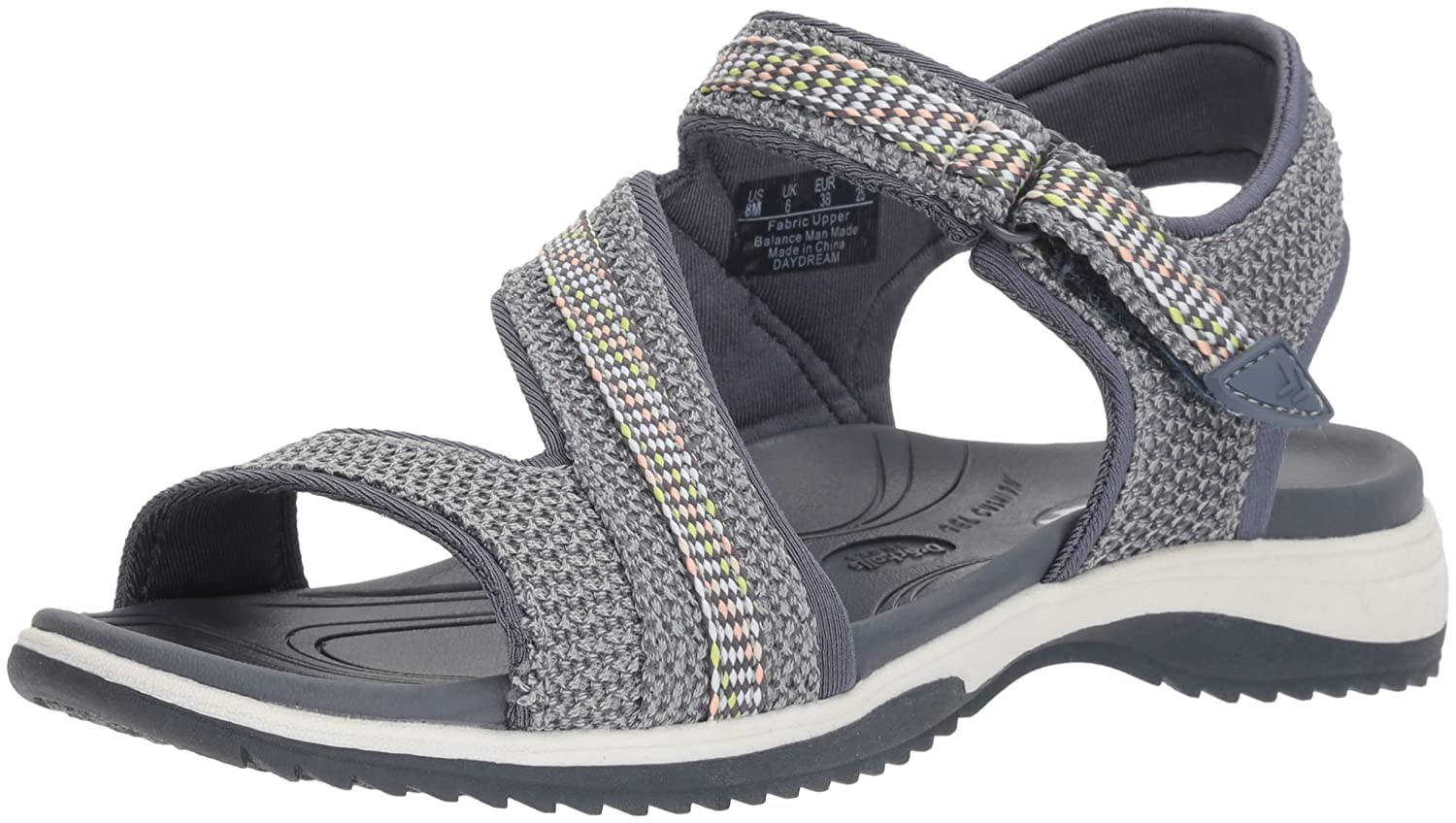 Dr. Scholl's Shoes Women's Daydream Slide Sandal B0767TR79S 11 B(M) US|Light Wash Blue Mesh