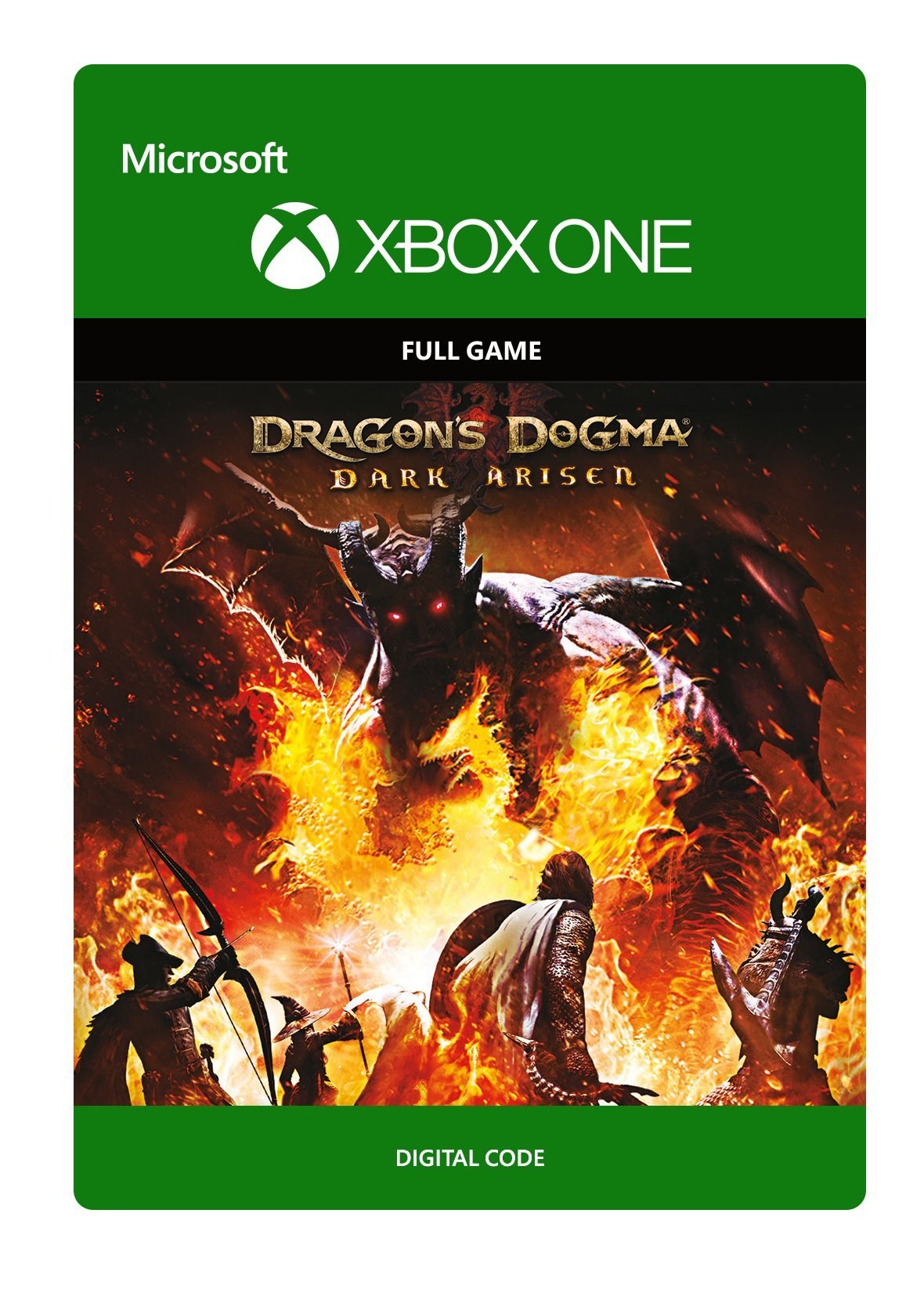 Dragon's Dogma Dark Arisen - Xbox One [Digital Code]