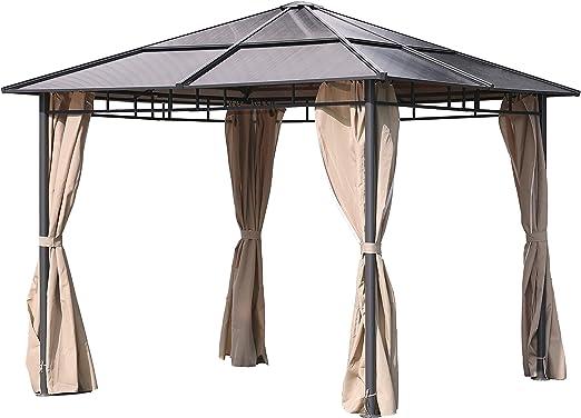Diseño Carpa – Carpa para jardín de acero para jardín jardín tienda überdachung Protección Solar: Amazon.es: Jardín
