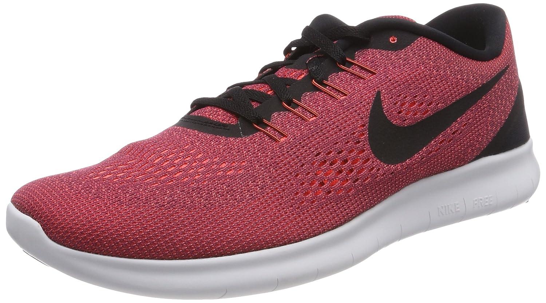 Rouge (HyperOrange Brouillardd'océan grisloup Noir) Nike Free Run, Chaussures de Running Homme 42.5 EU