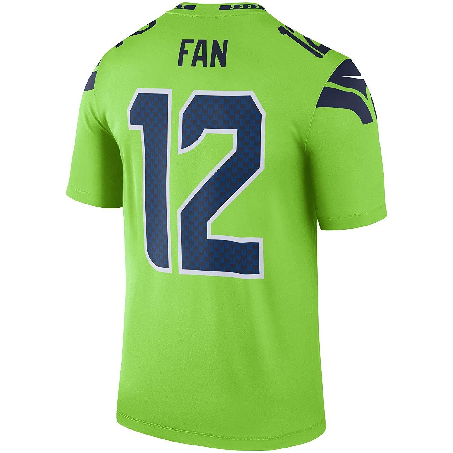 Amazon.com  Nike Seattle Seahawks  12 Fan Color Rush Neon Green Legend  Dri-FIT Jersey - Men s Medium  Clothing a50646842