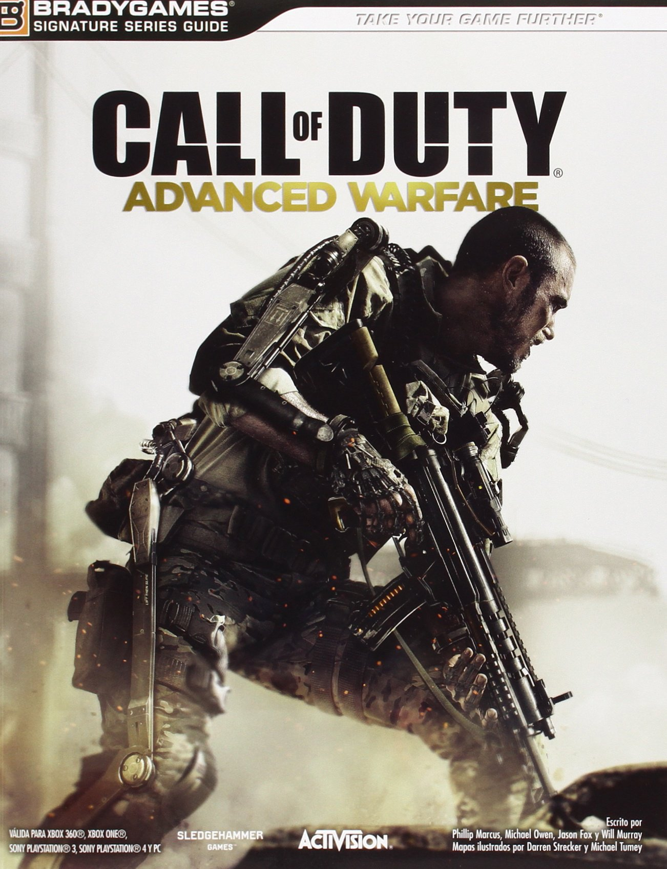 Guía Call Of Duty. Advanced Warfare Tapa blanda – 4 nov 2014 Vv.Aa. Namco Bandai 8866311669 arte