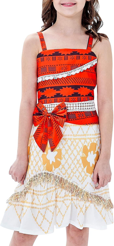 Sunny Fashion Vestido para niña Disfraz Dibujos Animados Cosplay Víspera de Todos los Santos Princesa 6 años: Amazon.es: Juguetes y juegos