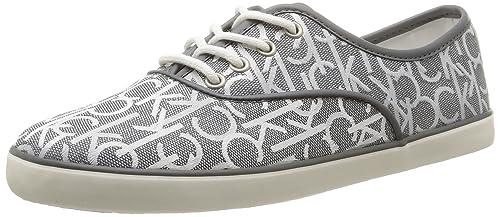 Calvin Klein Jeans Rea - Zapatillas para Mujer, Color Gris (PWR), Talla 40: Amazon.es: Zapatos y complementos