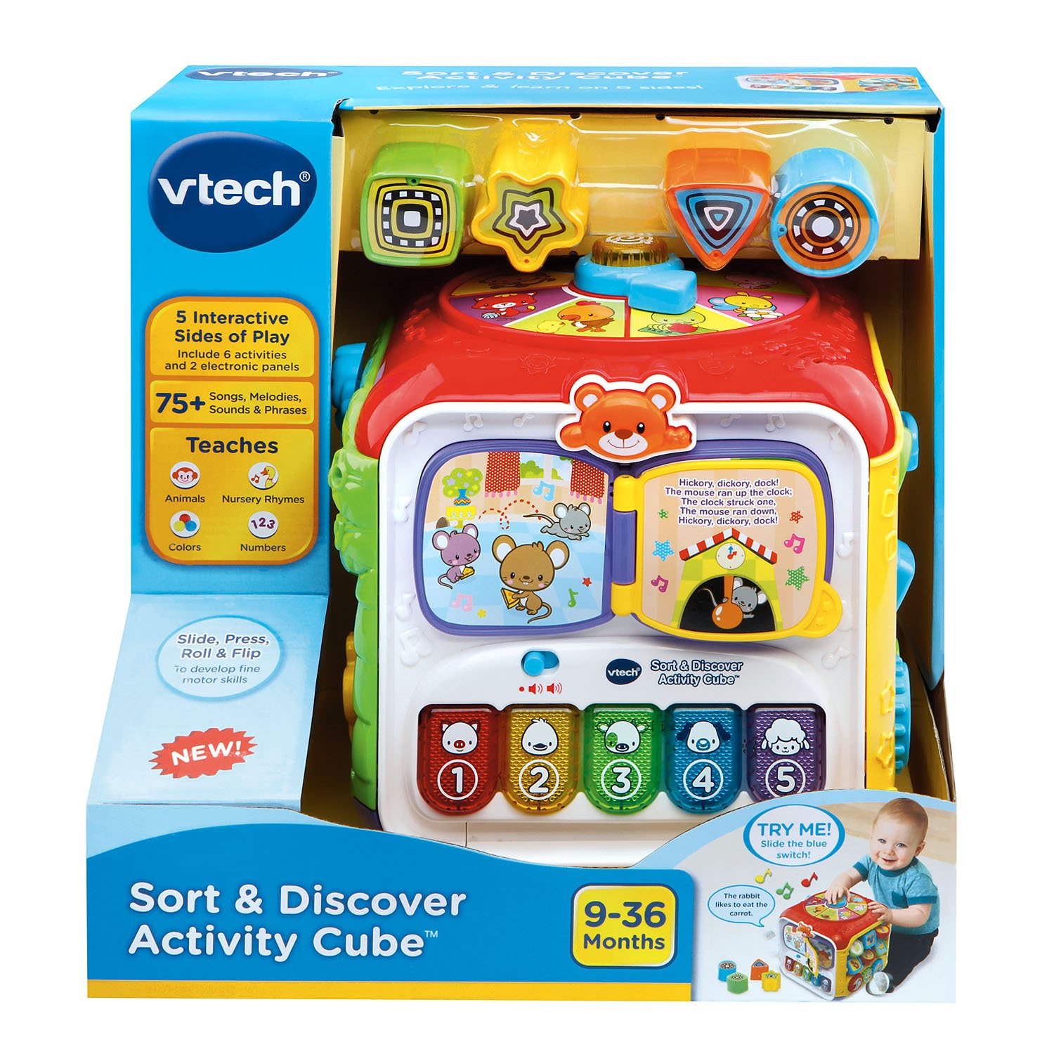 $13.35 VTech Sort and Discover Activity Cube