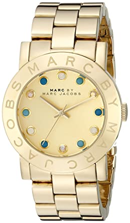 Image Unavailable. Image not available for. Color  Marc by Marc Jacobs  MBM3215 Ladies Gold Amy Watch 70ab75bbdd