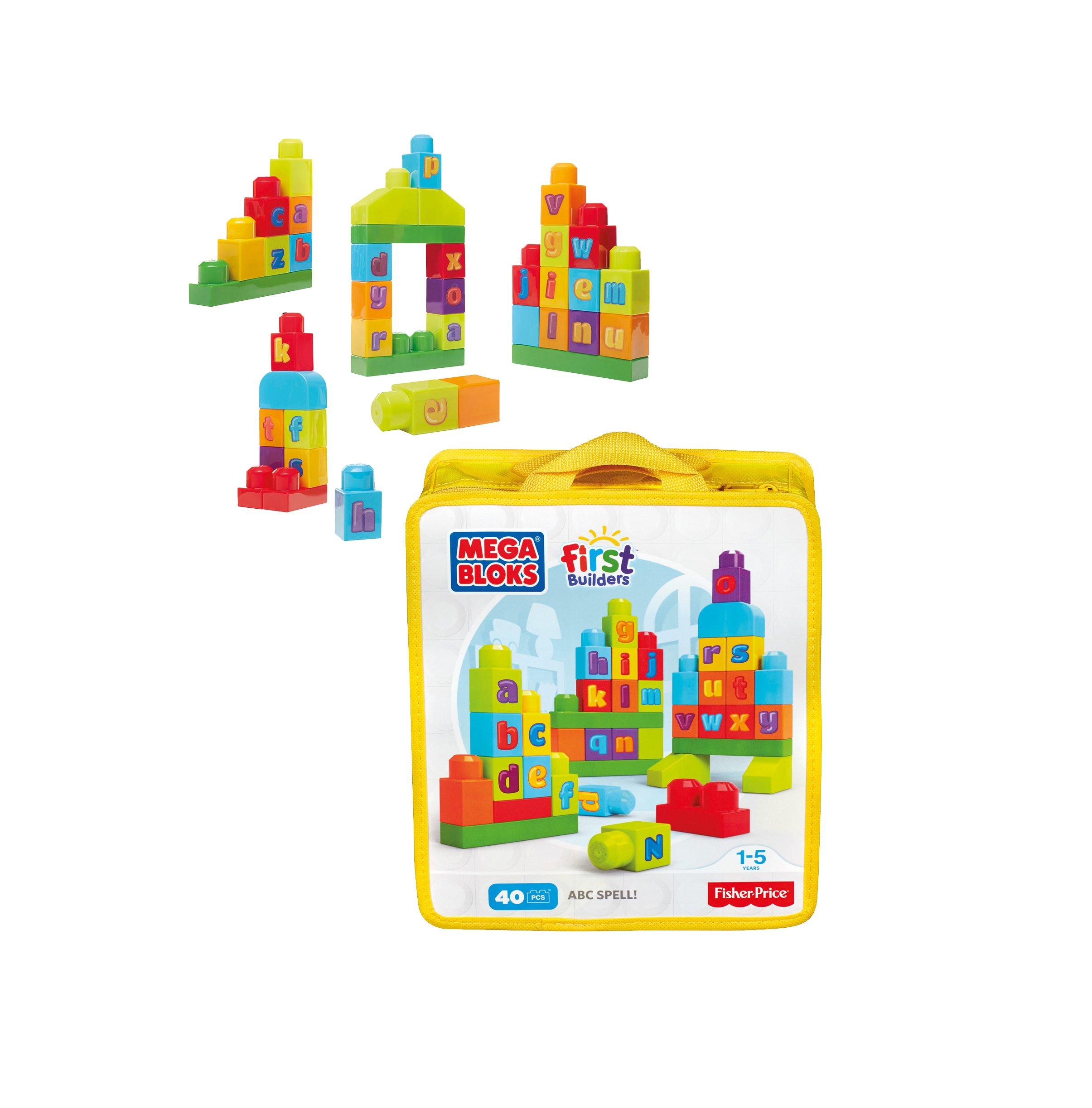 Mega Bloks ABC Spell!
