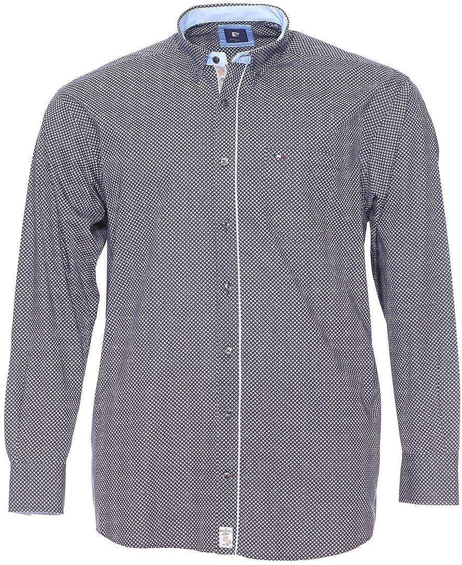Pierre Cardin-Camisa para hombre talla grande, color azul azul marino xxxxx-large: Amazon.es: Ropa y accesorios