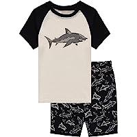 Little Big Boys Summer Snug-Fit Pajamas Short 100% Cotton Kids Pjs Sets