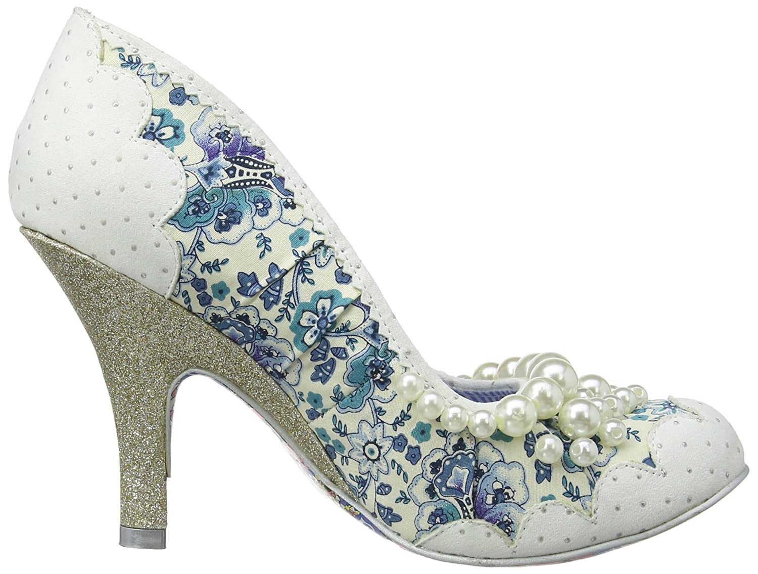 Amazon.com | Irregular Choice Womens Pearly Girly Textile Shoes ...