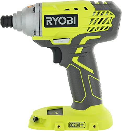 Ryobi P235 1 4 Inch One 18 Volt Lithium Ion Impact Driver with 1,600 Pounds of Torque Battery Not Included, Power Tool Only Renewed
