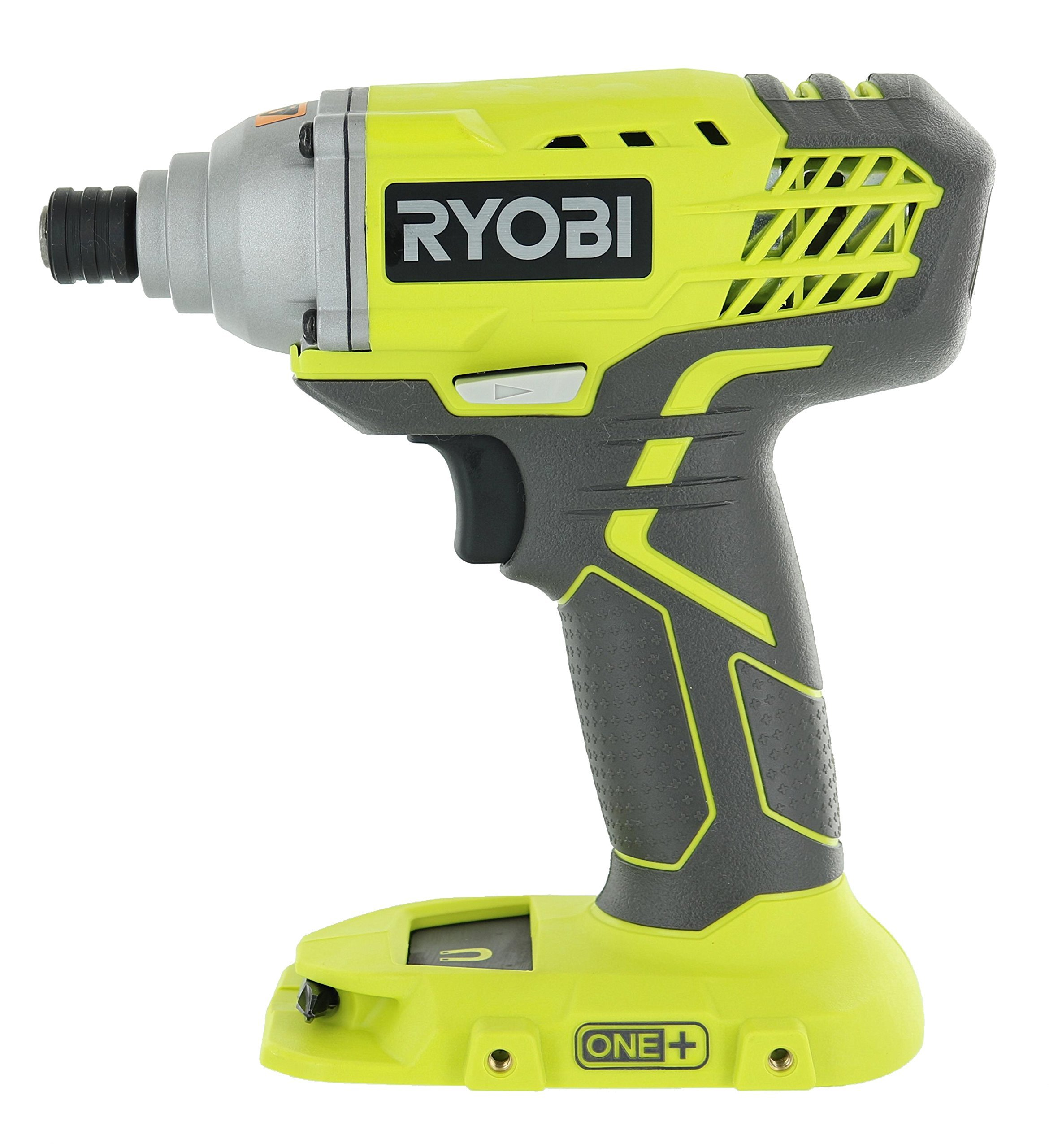 Ryobi P235 1/4 Inch One+ 18 Volt Lithium Ion Impact Driver with 1,600 Pounds of Torque (Battery Not Included, Power Tool Only) (Certified Refurbished)