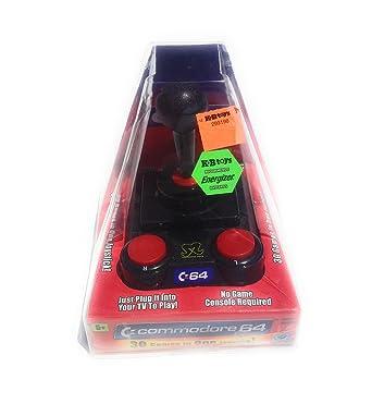 Amazon com: Commodore 64: 30 Games in One Joystick: Video Games