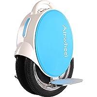 Airwheel Q5 - Blanc / Bleu 170 Wh | monocycle électrique | 2x14 pouces - 450 Watt - 30 kilomètres portée