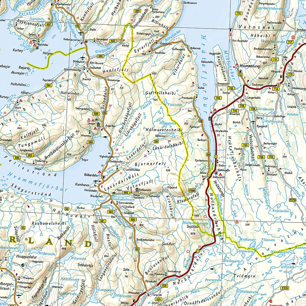 Iceland: Travel Maps International Adventure Map Idioma Inglés : 3302: Amazon.es: Vv.Aa.: Libros en idiomas extranjeros