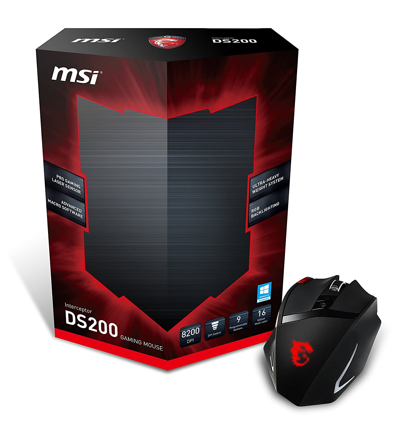 MSI Gaming Mouse Interceptor DS200