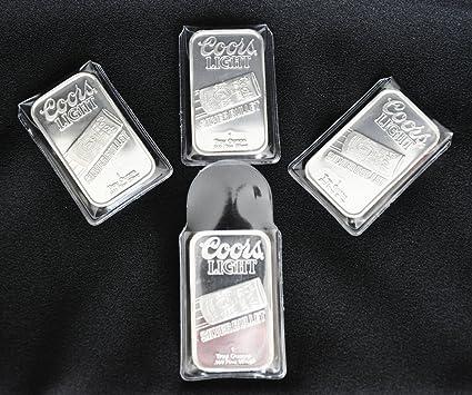 10 Vinyl Flips Sleeves Holders for 5 oz Silver or Gold Bars