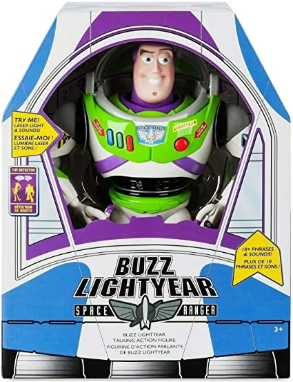 2019 Talking Buzz Lightyear Toy Story Action Figure 12/'/' Ultimate Bank Kids Gift