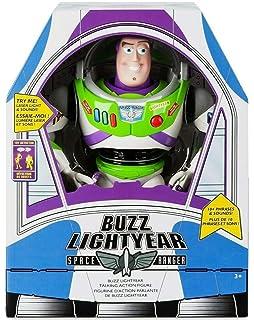 Amazon Com Toy Story Talking Buzz Lightyear Toys Games