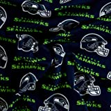 Fabric Traditions NFL Cotton Broadcloth Seattle