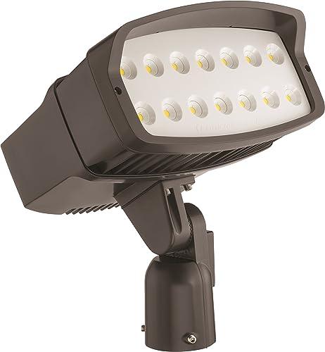 Lithonia Lighting OFL2 LED P2 50K MVOLT is DDBXD M2 5000K Color Temperature LED Size 2 Floodlight