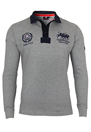 Geographical Norway - Polo - para Hombre Gris Gris Claro (Melange ...
